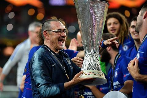 Sarri nói về tương lai sau chức vô địch Europa League với Chelsea hình ảnh