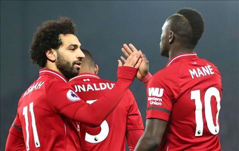 Salah va Mane cua Liverpool