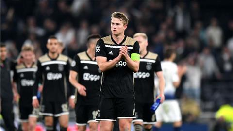 Matthijs de Ligt nói về trận lượt về với Tottenham hình ảnh