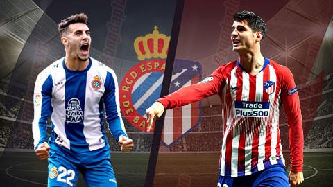 Espanyol vs Atletico Madrid 21h15 ngày 45 (La Liga 201819) hình ảnh