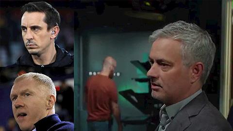 Mourinho cong khai chi trich Scholes va Mourinho
