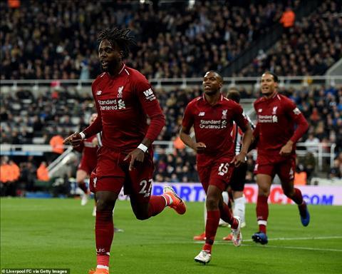 Origi phát biểu trận Newcastle 2-3 Liverpool tri ân Salah hình ảnh