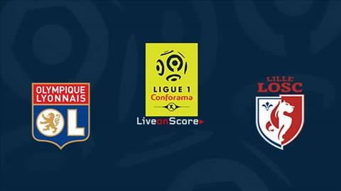 Lyon vs Lille 3h05 ngày 412 Ligue 1 201920 hình ảnh