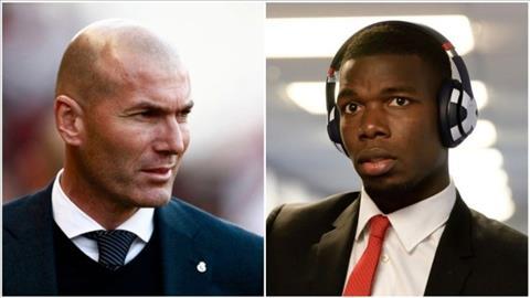 Zidane nhắn gửi đến Pogba về khả năng tới Real Madrid hình ảnh