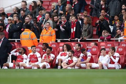 Arsenal thất vọng sau trận hòa Brighton hình ảnh