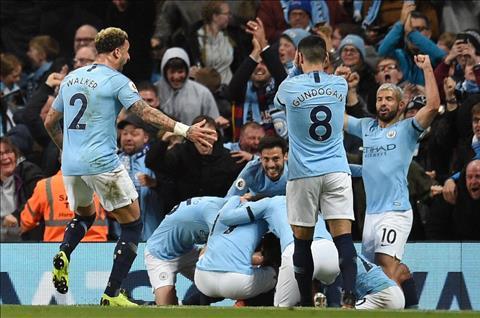 Man City thang Leicester