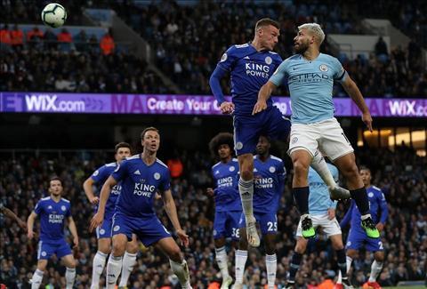 Man City vs Leicester Aguero