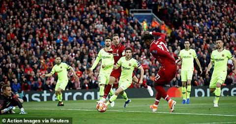 Liverpool 4-0 Barca Đêm huyền diệu của dàn kép phụ dự bị hình ảnh
