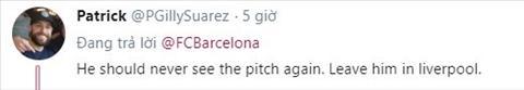 Coutinho hứng chịu cơn thịnh nộ từ CĐV Barca  hình ảnh