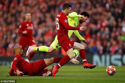 Học Smalling, Robertson phạm lỗi với Messi  hình ảnh