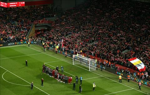 Liverpool san Anfield