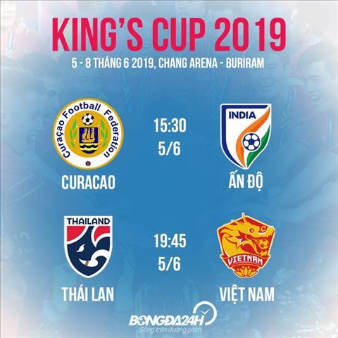Nóng ĐT Việt Nam gặp Thái Lan ở King Cup 2019 hình ảnh