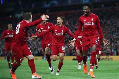 Sterling chúc mừng Liverpool thắng Barca và chơi trận chung kết hình ảnh