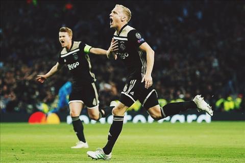 Donny van de Beek Sát thủ ẩn mình của Ajax Amsterdam hình ảnh
