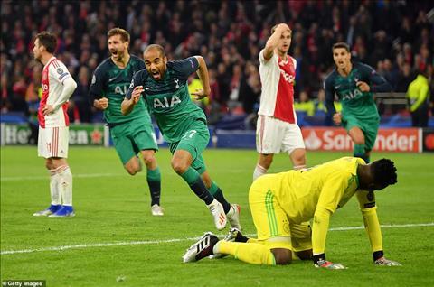 Eriksen ca ngợi Lucas Moura sau trận Ajax 2- Tottenham hình ảnh