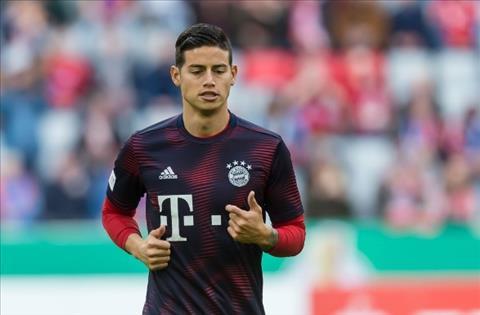 Chi 40 triệu euro, MU muốn mua tiền vệ James Rodriguez ở Hè 2019 hình ảnh