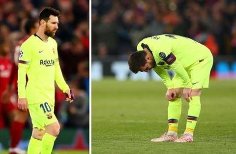 Messi cua Barca thua tham