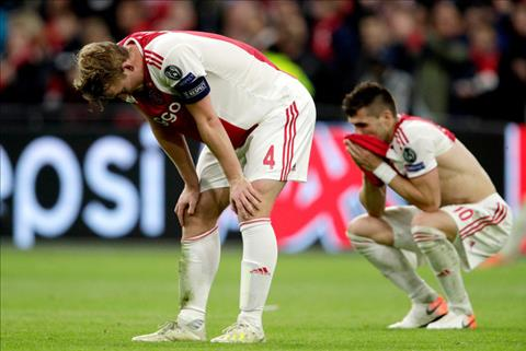 De Ligt chia sẻ sau trận Ajax 2-3 Tottenham hình ảnh