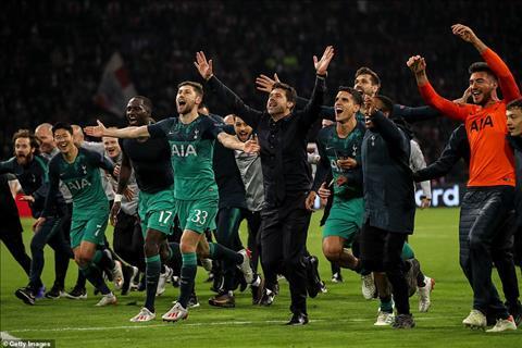 Ajax 2-3 Tottenham Mauricio Pochettino