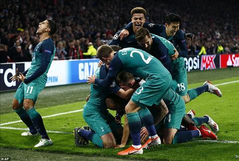 Ajax 2-3 Tottenham