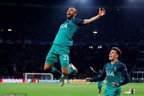 Người hùng Lucas Moura của Tottenham suýt gia nhập Napoli hình ảnh