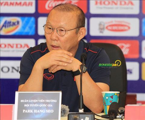 HLV Park Hang Seo thừa nhận sai sót khi đồng ý tham dự Kings Cup hình ảnh