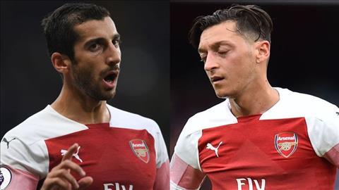 Arsenal ban Mesut Ozil va Henrikh Mkhitaryan o He 2019