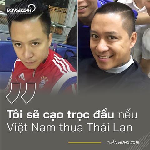 Thái Lan không còn là nỗi ám ảnh Chẳng ai bắt Tuấn Hưng cạo đầu hình ảnh