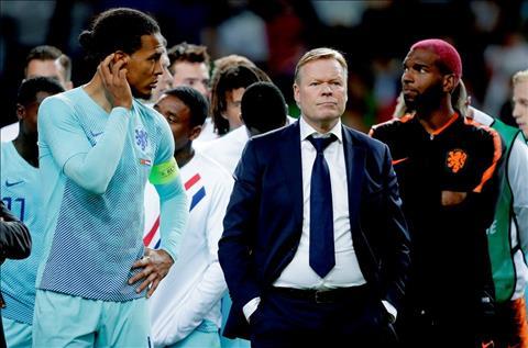 Ronald Koeman phát biểu sau trận BĐN 1-0 Hà Lan hình ảnh