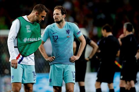Daley Blind phát biểu sau trận BĐN 1-0 Hà Lan hình ảnh