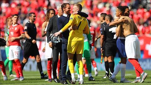 HLV Gareth Southgate phát biểu trận Anh vs Thụy Sĩ hình ảnh