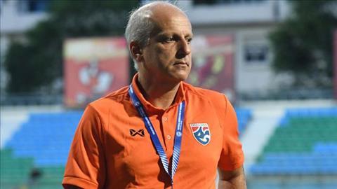 HLV Alexander Gama chia tay đội U23 Thái Lan hình ảnh