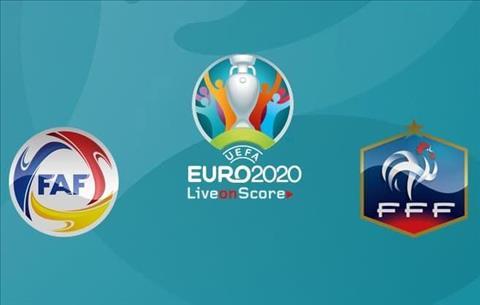 Andorra vs Phap Euro 2020