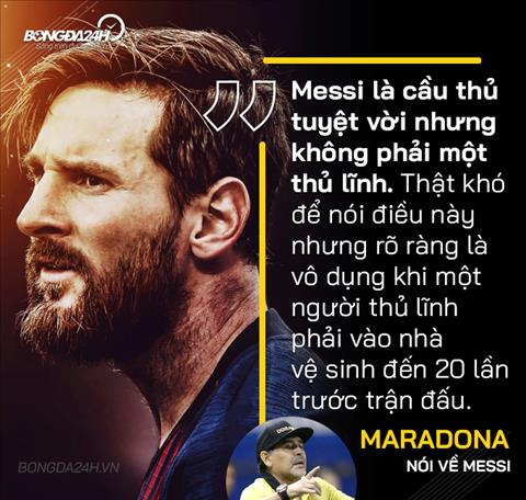 Maradona noi ve Messi