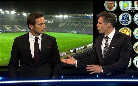 Carragher cho rang Lampard chua nen tro lai dan dat Chelsea