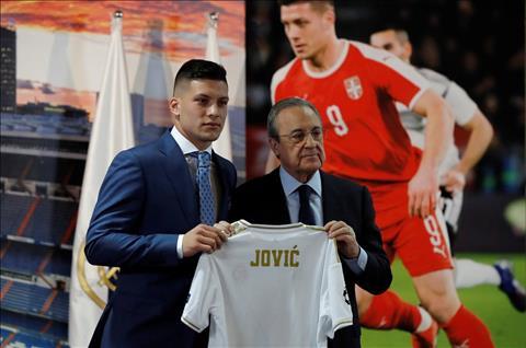 Tân binh Luka Jovic của Real Madrid và động lực lớn từ chị gái hình ảnh