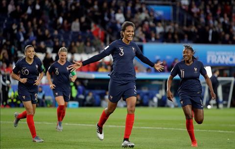 Trung vệ Winnie Renard tuyển Pháp - Virgil Van Dijk phiên bản nữ hình ảnh