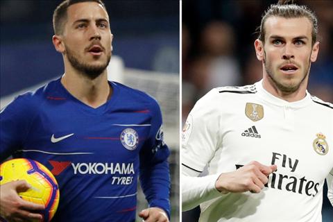 Hazard tới Real Dấu chấm hết cho tiền vệ Gareth Bale hình ảnh