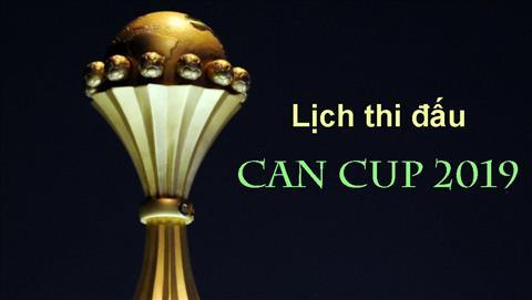 Lịch thi đấu Can Cup 2019 - LTĐ bóng đá châu Phi mới nhất hình ảnh