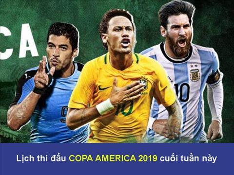 Lịch thi đấu Copa Ameria 2019 cuối tuần này - LTĐ bóng đá Nam Mỹ hình ảnh