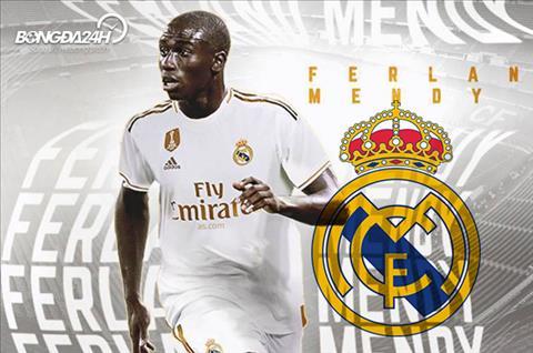 Tân binh Ferland Mendy của Real Madrid đòi đuổi Lucas Vazquez hình ảnh