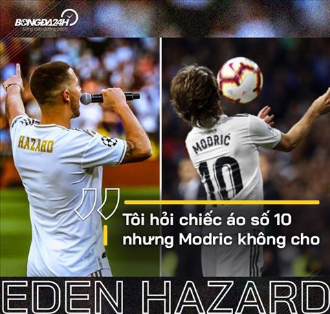 Eden Hazard đòi áo số 10 tại Real Cứ để sau hãy tính hình ảnh