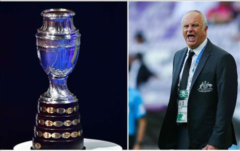 ĐT Australia nhận lời tham dự Copa America 2020 hình ảnh