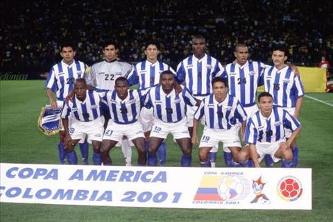 Hành trình kỳ vĩ của Honduras ở Copa America 2001 hình ảnh