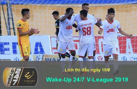 Lịch thi đấu V-League 2019 hôm nay 156 - LTĐ bóng đá Việt Nam hình ảnh