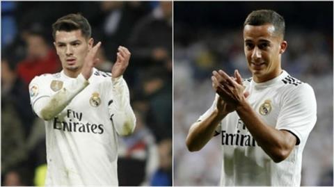 Lucas Vazquez va Brahim Diaz sap roi Real Madrid