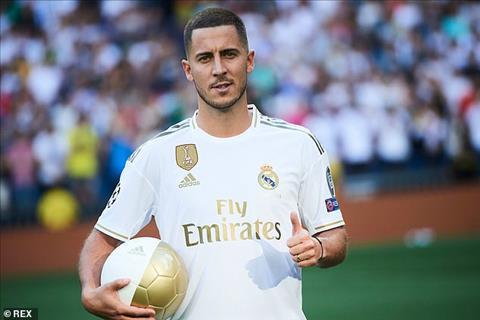 Eden Hazard đề ra mục tiêu to lớn tại Real Madrid hình ảnh