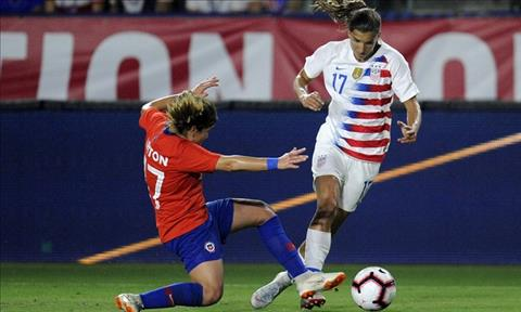 Nữ Mỹ vs Nữ Chile 23h00 ngày 166 (FIFA World Cup Nữ 2019) hình ảnh