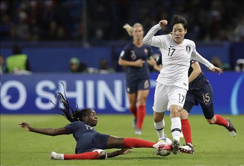 Nữ Hàn Quốc vs Nữ Na Uy 2h00 ngày 186 (FIFA World Cup nữ 2019) hình ảnh