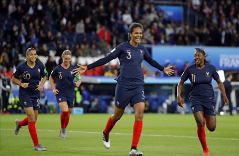 Nữ Pháp vs Nữ Nigeria 2h00 ngày 186 (FIFA World Cup Nữ 2019) hình ảnh